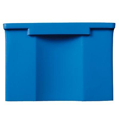 FUTURA-Sichtlagerkasten aus Polyethylen - Inhalt 0,9 l - VE 42 Stk, blau