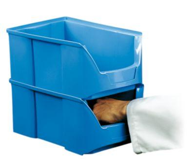 FUTURA-Sichtlagerkasten aus Polyethylen - Inhalt 3,0 l