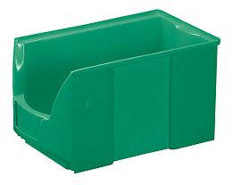 FUTURA-Sichtlagerkasten aus Polyethylen - Inhalt 11,0 l - VE 8 Stk, grün