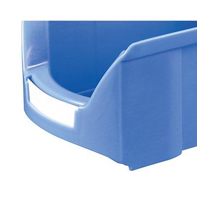Etiketten - für Kasten - Inhalt 11 und 25 l, VE 100 Stk
