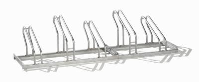 EUROKRAFT Fahrradständer - Edelstahl, Radeinstellung einseitig