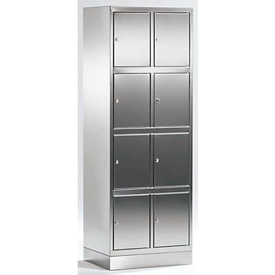 armoire en inox armoire casiers 8 casiers. Black Bedroom Furniture Sets. Home Design Ideas