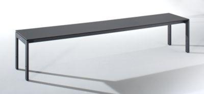 EUROKRAFT Umkleidebank mit Stahlgestell - LxHxT 2000 x 415 x 400 mm
