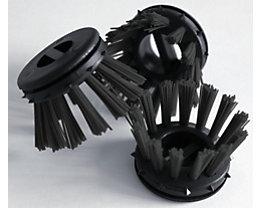 miltex Rundbürste, farbig - VE 30 Stk - schwarz