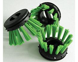 miltex Rundbürste, farbig - VE 30 Stk - grün
