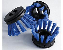 Rundbürste, farbig - VE 30 Stk - blau