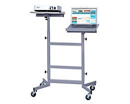 Beamer-Laptop-Cart - höhenverstellbare Plattformen
