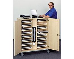 Laptop-Locker - mit Ablagen für 16 Laptops