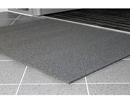 Schmutzfangmatte, schwer entflammbar - Breite 900 mm, pro lfd. m - grau