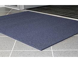 Schmutzfangmatte, schwer entflammbar - LxB 3000 x 900 mm, VE 1 Stk - blau