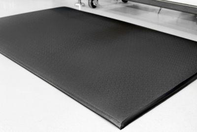 Anti-Ermüdungsmatte, zweilagig - Breite 1200 mm, pro lfd. m - schwarz