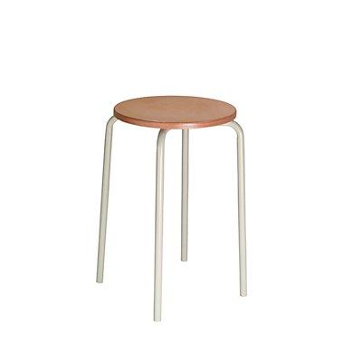 LOTZ Stapelhocker - Sitzfläche aus Buchenschichtholz