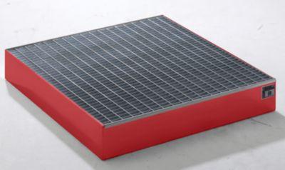 QUIPO Paletten-Auffangwanne - LxBxH 1200 x 1200 x 185 mm