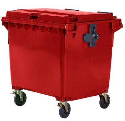 Kunststoff-Großmüllbehälter, nach DIN EN 840 - Volumen 1100 l