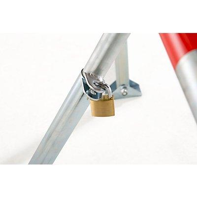 Sperrbügel, kippbar - verschiedenschließend - Rohr-Ø 48 mm