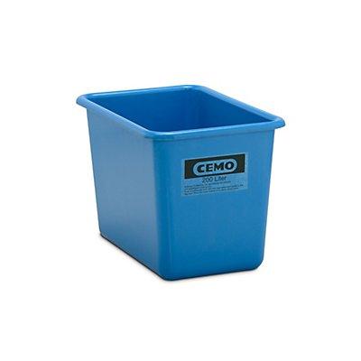 Cemo Großbehälter aus GfK - Inhalt 200 l, LxBxH 873 x 572 x 585 mm