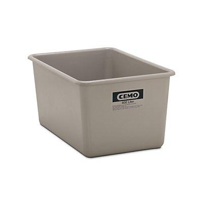 Cemo Großbehälter aus GfK - Inhalt 400 l, LxBxH 1190 x 790 x 585 mm