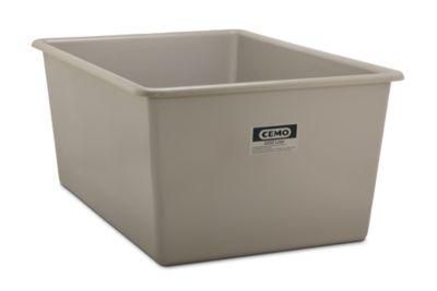 CEMO Großbehälter aus GfK - Inhalt 2200 l, LxBxH 2108 x 1480 x 915 mm