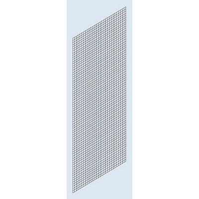 Habillage paroi latérale - grillage soudé, hauteur 2000 mm