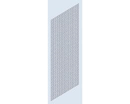 Seitenwand-Verkleidung - Schweißgitter, Höhe 2000 mm - Tiefe 500 mm