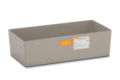 CEMO Boden-Auffangwanne - Kleingebinde, mit Zulassung