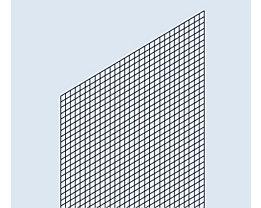 Rückwand-Verkleidung - Schweißgitter-Ausführung - für Regalhöhe 2500 mm