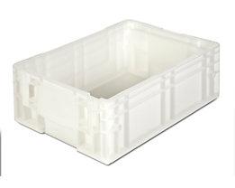 Stapelbehälter aus Polypropylen - Inhalt 12 l, Außenmaße LxBxH 400 x 300 x 147 mm - natur