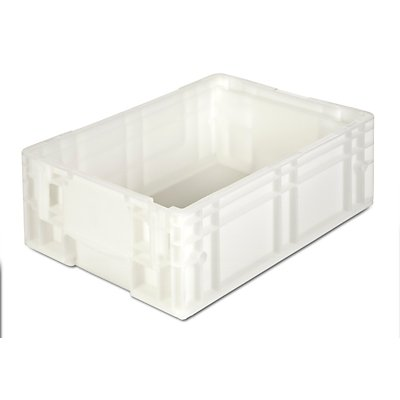 Caisses-palettes en polypropylène - capacité 12 l, dimensions extérieures L x l x h 400 x 300 x 147 mm