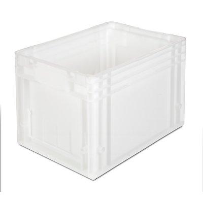 VECTURA Stapelbehälter aus Polypropylen - Inhalt 24 l, Außenmaße LxBxH 400 x 300 x 280 mm