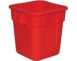 Rubbermaid Universalcontainer, quadratisch - Inhalt ca. 105 l - rot