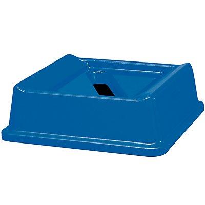 Deckel für Papiereinwurf, blau HxBxT 70 x 518 x 287 mm