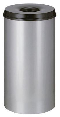 Corbeille à papier anti-feu - capacité 50 l, hauteur 625 mm - corps alu... par LeGuide.com Publicité