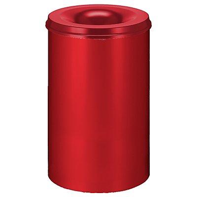 Corbeille à papier anti-feu - capacité 110 l, hauteur 710 mm
