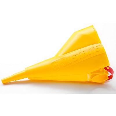JUSTRITE Polyethylen-Trichter, für Sicherheitsbehälter mit 7,5 und 19 Liter ab 1 Stück