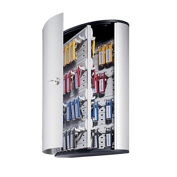 Durable Design-Schlüsselkasten - mit Sicherheitszylinderschloss - HxBxT 400 x 300 x 118 mm  72 Haken