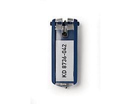 Durable Schlüsselanhänger - Verpackungseinheit 6 Stück - blau