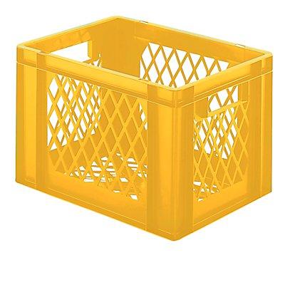 Euro-Format-Stapelbehälter, Wände und Boden durchbrochen - LxBxH 400 x 300 x 266 mm