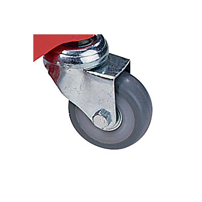 Transportrolly im handlichen Kunststoffkoffer - aus Aluminium, für Lasten ohne Beine, VE 4 Stk