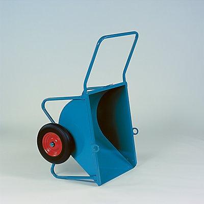Vierkufen-Kipper - Luftgummireifen