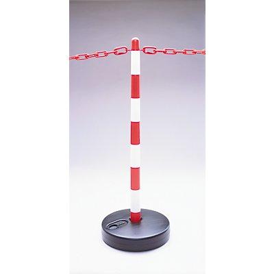 MORAVIA Kettenständer-Set - 6 Pfosten, 10 m Kette