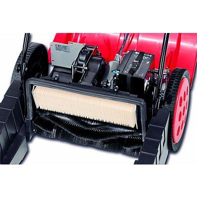 Kehrmaschine mit Motor - mit Tandem-Walzen-System, Behälterinhalt 50 Liter - Behälterinhalt 50 l