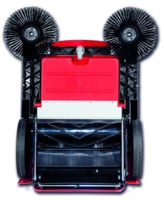Kehrmaschine mit Motor - mit Einwalzen-Kehrschaufel, Behälterinhalt 50 Liter - Behälterinhalt 50 l