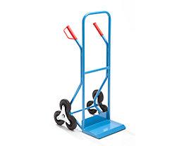 EUROKRAFT Treppenkarre - aus Stahl, Tragfähigkeit 250 kg
