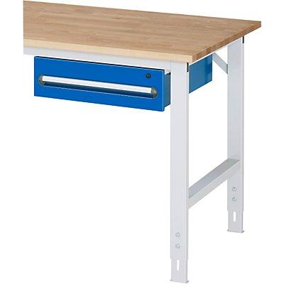 RAU Tisch-Unterbaucontainer - Höhe 150 mm, 1 Schublade