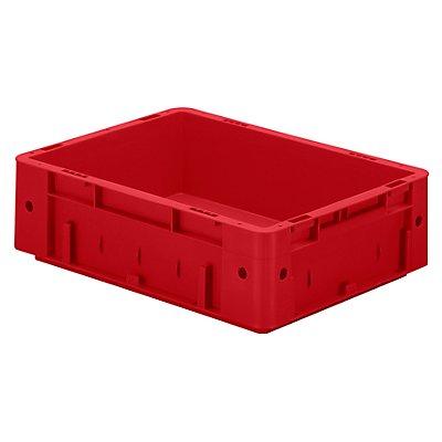 Schwerlast-Euro-Behälter, Polypropylen - Inhalt 9,2 l, LxBxH 400 x 300 x 120 mm, Wände geschlossen
