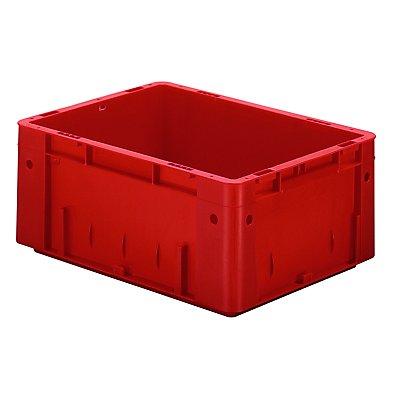 Schwerlast-Euro-Behälter, Polypropylen - Inhalt 14,5 l, LxBxH 400 x 300 x 175 mm, Wände geschlossen