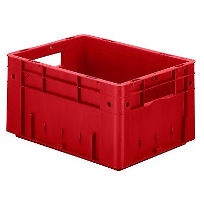 Schwerlast-Euro-Behälter, Polypropylen - Inhalt 17,5 l, LxBxH 400 x 300 x 210 mm, Wände geschlossen