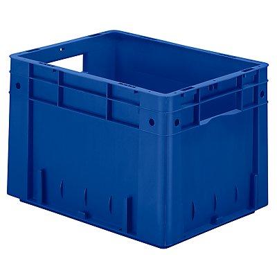Schwerlast-Euro-Behälter, Polypropylen - Inhalt 23,3 l, LxBxH 400 x 300 x 270 mm, Wände geschlossen