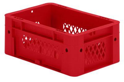 Schwerlast-Euro-Behälter, Polypropylen - Inhalt 4,1 l, LxBxH 300 x 200 x 120 mm, Wände durchbrochen