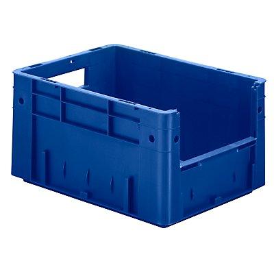 Euro-Stapelbehälter - Inhalt 17,5 l, Außen-LxBxH 400 x 300 x 210 mm, VE 4 Stk